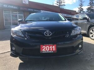 2011 Toyota Corolla S/One Owner/Ontario Car