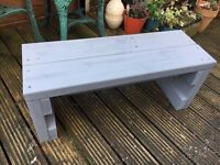 Garden Heavy Duty and Chunky Rustic style Seat Bench Hand made from reclaimed wood