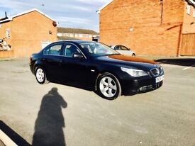 BMW 5 Series 520d 2.0diesel 174bhp 6 speed manual comes with 6 months warranty full history service