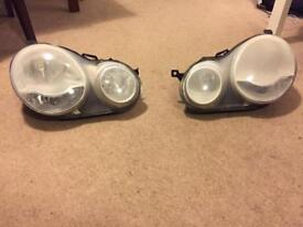 Vw Polo (2002-2009 model) pair of front headlight