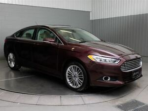 2013 Ford Fusion SE MAGS TOIT CUIR CAMERA DE RECUL NAVI West Island Greater Montréal image 3