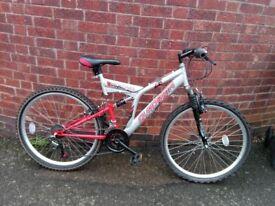 """men's quadrata sentinel bike 26"""" wheels"""