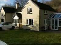 Superb 4 bed detached house in private large grounds near historic Ironbridge Shropshire