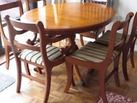 Yew Dinning Table