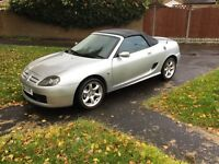 Mg tf 1.8 convertible facelift model 2005 2 door sport mot July 2017