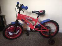 Boys Spider-Man bike