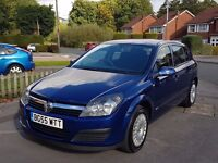 2005/55 VAUXHALL ASTRA 1.4 LIFE - ONLY 39,000 MILES - FSH - MOT OCT 17 - SUPERB CONDITION