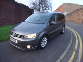 2011 VW TOURAN SPORT TDI FULL SERVICE HISTORY 2 FORMER OWNERS 7 SEATS COME WITH 3 MONTHA WARRANTY
