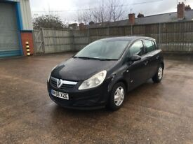 Vauxhall Corsa 1.3 CDTI Diesel, 5 door, EcoFlex, £30 road tax for year, long mot