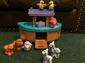 Fisher Price Little People Noah's Ark Toy