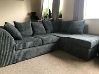 Grey Corduroy sofa
