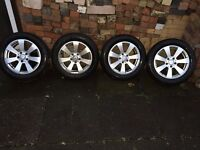 Mercedes C CLASS W204 - 16' alloys and 4x brand new MICHELIN tyres