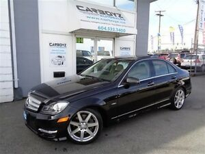 2012 Mercedes-Benz C-Class C350 4MATIC, Nav, Pano Roof, Like New