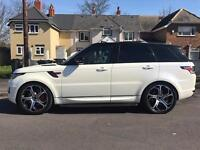 2014 Range Rover sport overfinch 7k plate included