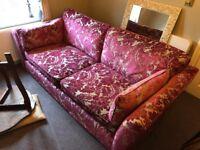 Large three seater M&S sofa