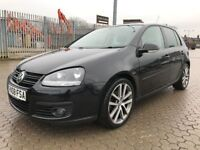 2008│Volkswagen Golf 2.0 TDI GT 5dr│LEATHER SEATS│HEATED SEATS│2 KEYS│CRUISE CONTROL│1 YEAR MOT