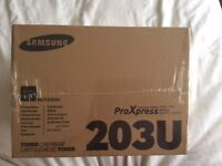 SAMSUNG MLT-D203U Black Toner Cartridge ProXpress Genuine Brand New In Box 4 Available.