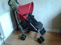 MAMAS & PAPAS PUSHCHAIR WITH ORIGINAL RAINCOVER**FREE DELIVERY HULL**