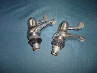 Pair of sink taps