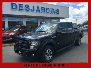 2014 FORD F-150 4WD SUPER CREW 157'' WB FX4 / Groupe Electrique