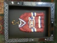 Mini Hockey Jersey Framed Picture