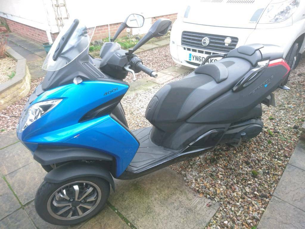 2015 Peugeot Metropolis 400cc Scooter Trike Tricycle In Dorchester