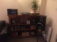 "Handmade Solid Pine Shelving Unit - 53"" x 42.5"""