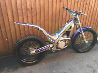 Sherco 290 trials bike 2004