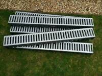 5 x Drainage Channels for driveways, etc