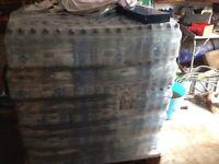 1000 bottles of water