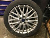 "Ford Focus 17"" alloy wheel"