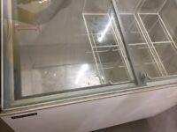 Ice Cream Gelato Chiller Display Dispenser