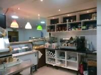 Coffee shop, Restaurant, Takeaway for sale