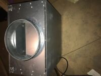 Ruck Iso 250 te5 acoustic box fan hydroponic grow room in good working condition delivery possible
