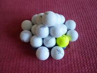 Golf balls…bag of 25 balls…