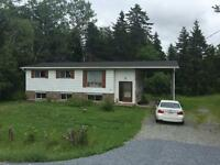 Private Fixer upper in Quispamsis 2/3 Acre 1100 Sq Ft $99,900