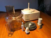 Magimix 4000 Food processor - Including accessories - Made in France - Reliable machine