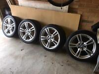 BMW 18in 400m M Sport Genuine Alloy Wheels - F30, F31, F32, F33, F34, F36