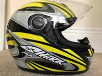 Men's Shark Motorcycle Helmet Large