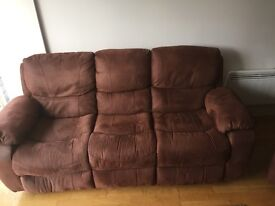 3 Piece Suite, 1 year old EXCELLENT CONDITION