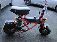 Di-Blasi folding motorcycle scooter monkeybike.