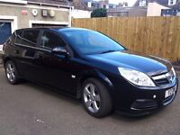VAUXHALL SIGNUM like VECTRA ELEGANCE CDTI 120 BLACK MOT and service history
