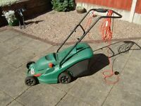 Qualcast Electric mower power trak 34 cm cut.
