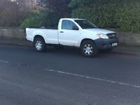 TOYOTA HILUX 2.5 D4D 4x4 SINGLE CAB TAX & TESTED NO VAT PX VEHICLE + delivery available