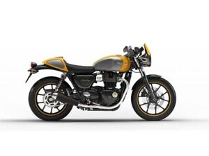 2017 Triumph Street Cup Summer of Adventure 0% APR for 48 months
