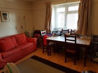 Double room in a lovely two-bedroom flat just across the road from Greenwich DLR