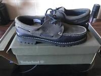 TOMBERLAND DECK SHOES NAVY/GREY BRAND NEW NEVER WORN SOZE 10