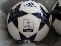 Rare Champions League Final Adidas Official Match Ball Football 2003