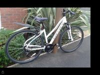 Nearly new Carrera crossfire 1 bike for sale for spares or repairs