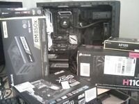 Intel-e i7 5820K x99 pc no 'gpu/ram'